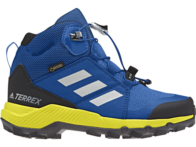 huge selection of brand new first rate adidas TERREX Mid GTX Shoes Kinder blue beauty/grey one/shoyel